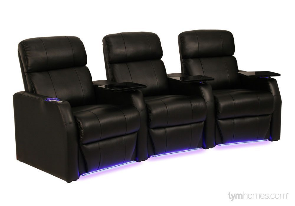 Seatcraft Home Theater Seating, Salt Lake City, Utah  |  Seatcraft 'Sienna'