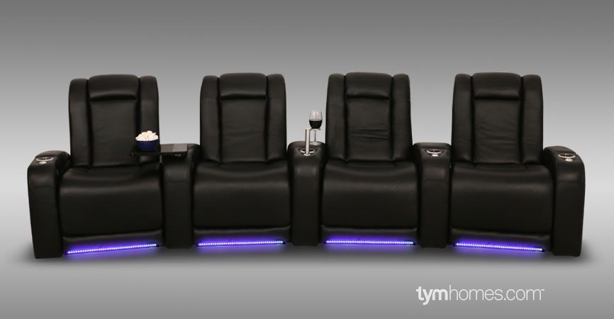 Home Theater Seating Is the New Living Room Furniture