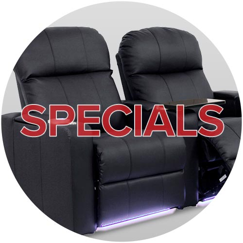 Home Theater Seating Specials, Salt Lake City Utah