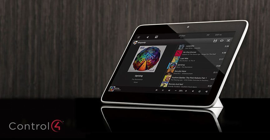 Control4 Introduces Sleek New Touch Screens