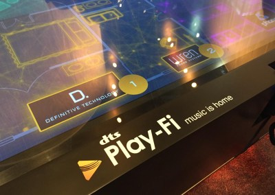 CES 2015 | Play-Fi station at the DTS booth