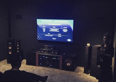 CES 2015 | Klipsch 7.1 Surround Sound with Dolby Atmos