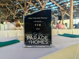 Most Valuable Partner, Salt Lake Parade of Homes