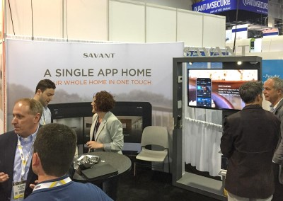ISC West 2015 | Savant Systems booth