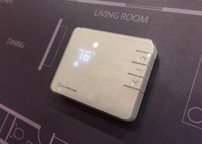 ISC West 2015   Alarm.com NEW Smart Thermostat
