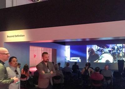 2015 NAB Show #NABshow | Sony 4K projection