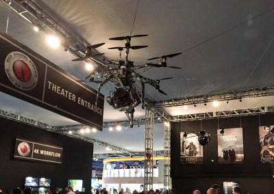 2015 NAB Show #NABshow | RED Digital Cinema camera drone