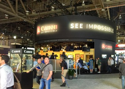 2015 NAB Show #NABshow | Canon booth, HDR, UDH, 4K