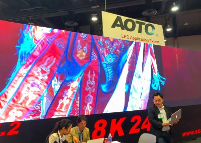 2015 NAB Show #NABshow | 8K LED video wall