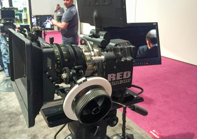 2015 NAB Show #NABshow | Leica lens for RED camera