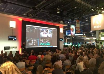 2015 NAB Show #NABshow | Adobe booth