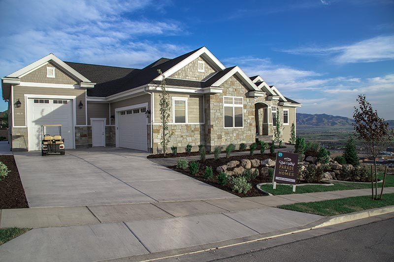Home For The Holidays by Handcrafted Homes 1813 W Crest Ridge Rd, Lehi Utah