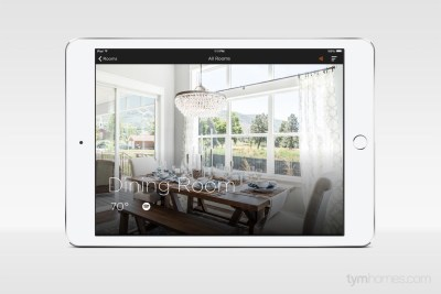 Jack Fisher Homes | 2015 Northern Wasatch Parade of Homes | Savant App home automation