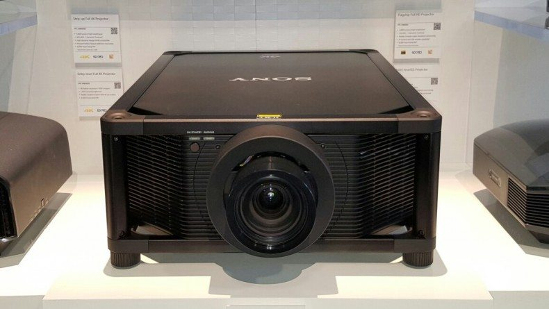 Sony VPL-VW5000ES 4K Laser home theater projector, CEDIA 2015