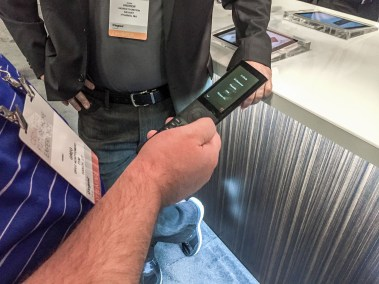 Hands-on with the NEW Savant Remote, CEDIA 2015 | Available from TYM, Salt Lake City, Utah