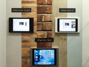 iPort iPad mounts, CEDIA 2015 | TYM, Salt Lake City, Utah