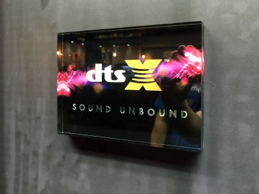 DTS:X demo at Klipsch booth, CEDIA 2015