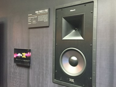 Klipsch POR-7800-L-THX, THX in-wall home theater speaker, CEDIA 2015 | TYM, Salt Lake City, Utah