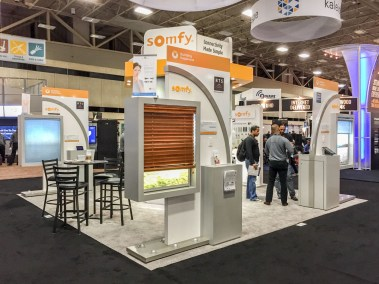 Somfy automated window shades and blinds, CEDIA 2015 | TYM, Salt Lake City, Utah