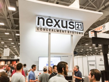 Nexus21 TV lifts, CEDIA 2015 | TYM, Salt Lake City, Utah
