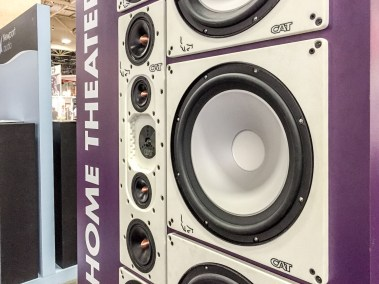 CAT speakers, California Audio Technology, CEDIA 2015