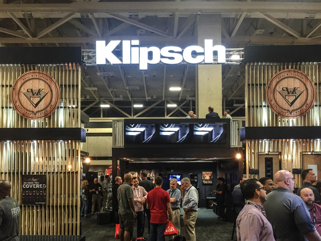 Klipsch DTS:X demo at CEDIA 2015