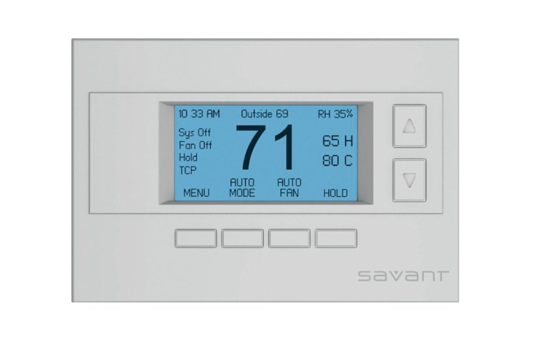 Savant Smart Thermostat, Salt Lake City, Utah