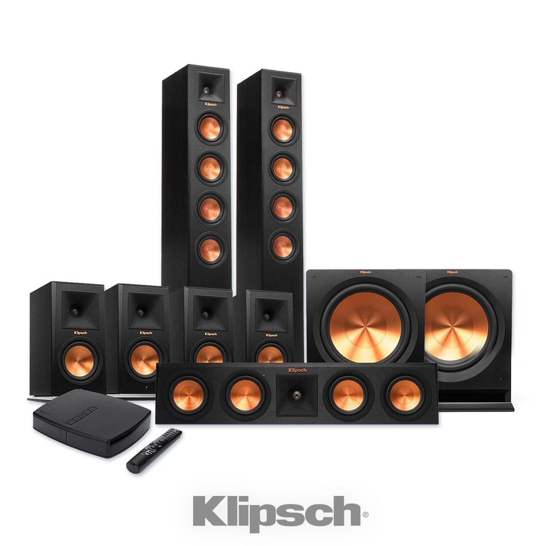 wireless klipsch 7.2 surround sound utah