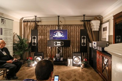 CAT California Audio Technology 7.1 demo CES 2016