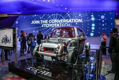 Toyota Kikai concept car CES 2016