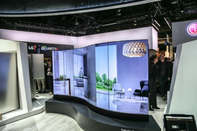 LG Curved Display CES 2016