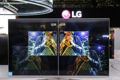 LG HDR OLED TV CES 2016