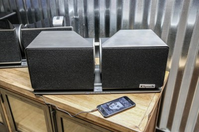 Klipsch Play-Fi Stadium Speakers CES 2016