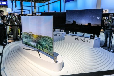 Samsung SUHD TVs with built-in SmartThings Hub CES 2016