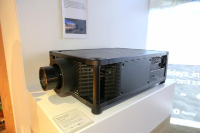 Sony VPL-VW5000ES 4K Laser Video Projector CES 2016, Salt Lake City, UT