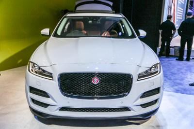 Jaguar F-Pace CES 2016