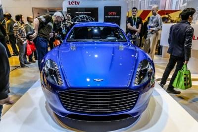 Aston Martin Rapide CES 2016