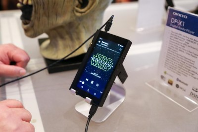 Onkyo DP-X1 Digital Audio Player CES 2016