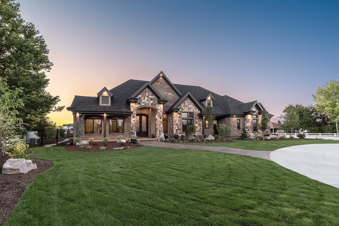 The Stone Haven by Tree Haven Homes. %22PEOPLE'S CHOICE AWARD%22, 2015 Salt Lake Parade of Homes