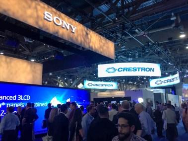 Sony, InfoComm 2016, Las Vegas, Nevada