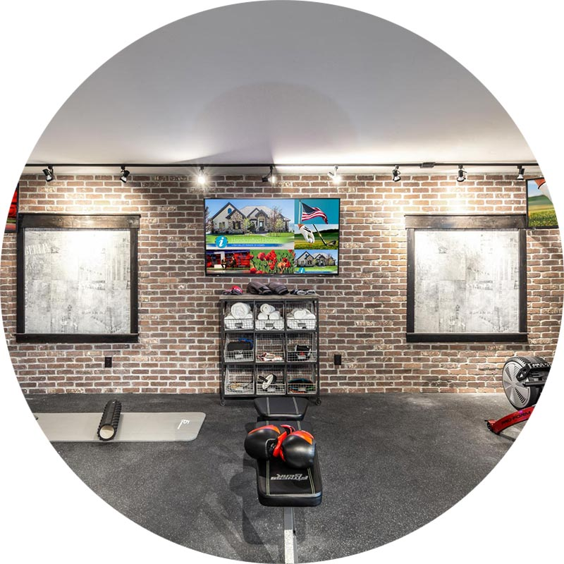 High-Tech Smart Home Gym, Utah