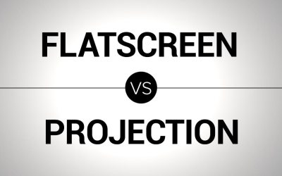 Flatscreen TV vs Projection. Which is Better?