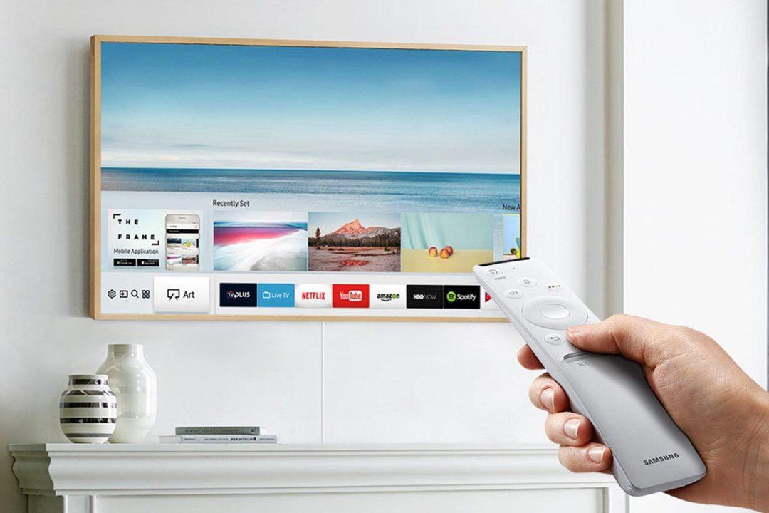 Samsung Digital Art & 4K TV with Remote + Mobile App