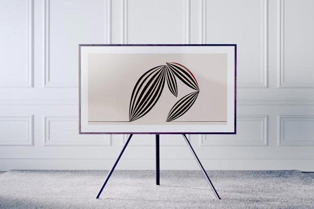Samsung Digital Art & 4K TV with Remote + Mobile App, Optional Stand