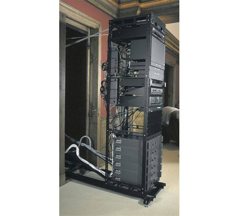 TYM Homes Slide-Out Media Rack