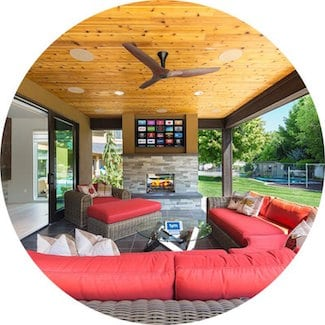 Best Outdoor Space EH Home Of The Year 2016 Silver Winner