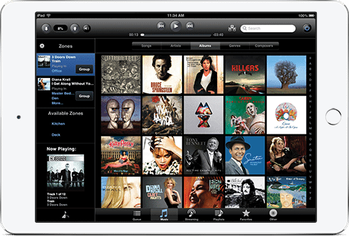 Home Audio Systems iPad Mirage Music Server