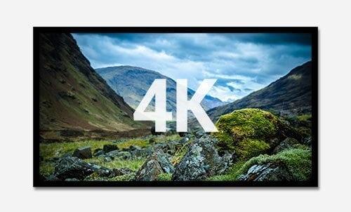 Salt Lake City Home Theater Screens 4k-Ready Screens