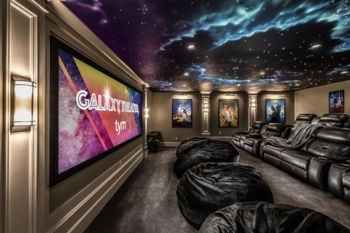 "Best Home Theater ""Gold Winner"" 2018 Home of the Year Awards"