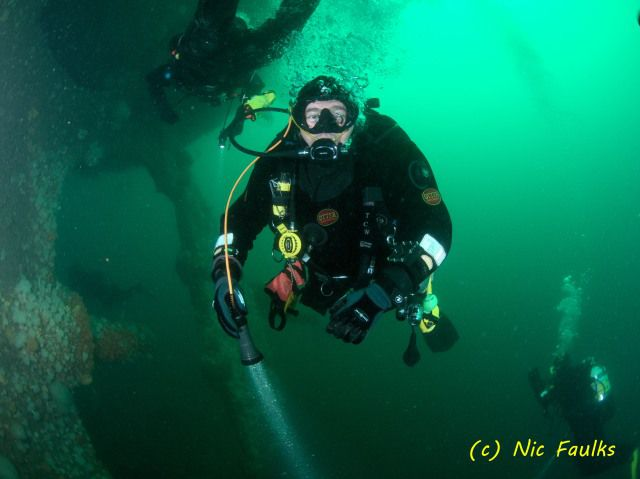 Diver on Hispania
